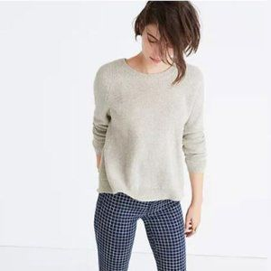 MADEWELL Province Cross-Back Pullover Sweater S